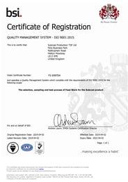 Certificate_9001_TSP